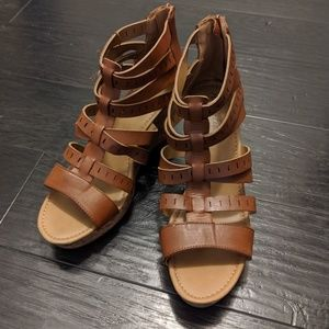 American Eagle size 12 Brown Wedges